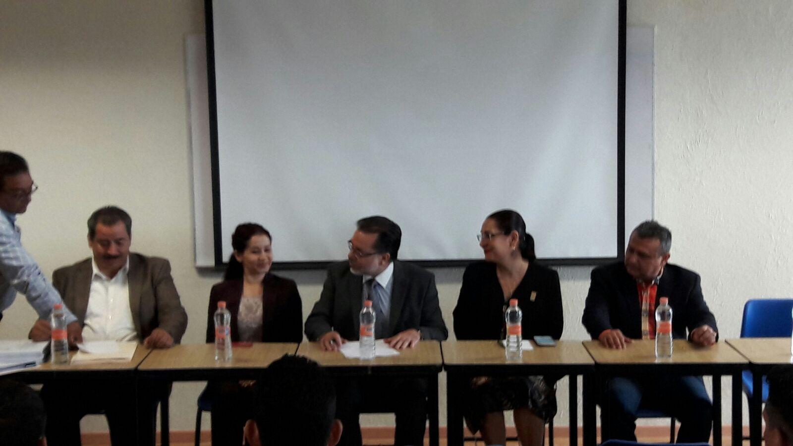 Seminario en Derecho Procesal Electoral en el Centro Universitario de la Ciénega de la Universidad de Guadalajara.