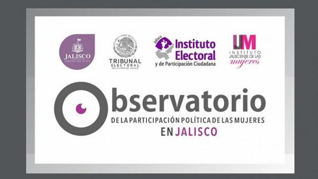 """Instalación del """"Observatorio de la participación política de las mujeres en Jalisco"""""""