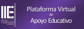 Plataforma Virtual de Apoyo Educativo del Instituto de Investigaciones y Capacitación Electoral