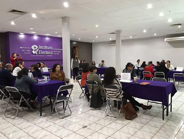 Reunión de trabajo de las comisiones del Observatorio de la Participación Política de las Mujeres en Jalisco.