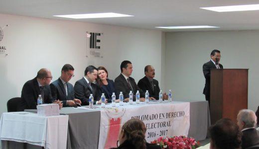 Clausura del primer Diplomado en Derecho Electoral 2016-2017 del Colegio de Abogados Especialistas en Participación Ciudadana en Materia Electoral en el Estado de Jalisco A.C.