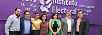 Sesión Ordinaria de Informe Anual del Observatorio de la Participación Política de las Mujeres en Jalisco.