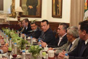 Reunión Institucional, convocada por la Secretaría General de Gobierno