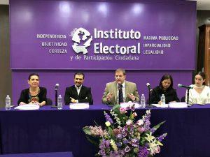 """IEPC presentación del proyecto """"Estrategia ciudadana para la Prevención y Observación de la Violencia Política contra las Mujeres durante el proceso electoral local 2017-2018 en Jalisco"""""""