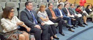 """Magistrados presentes en foro: """"Los derechos político-electorales de las personas con discapacidad"""" en Sala Guadalajara del Tribunal Electoral del Poder Judicial de la Federación"""
