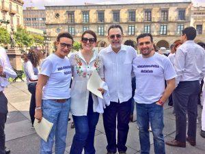 """""""Por unas elecciones sin violencia"""""""