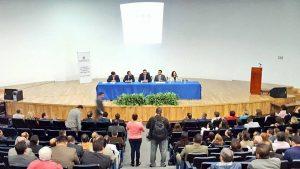 """El Magistrado Presidente  Rodrigo Moreno Trujillo participando en la """"Jornada de Inducción Electoral para Jueces"""""""