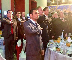 El Magistrado Presidente Rodrigo Moreno Trujillo, presente en el 130 Aniversario de LaCámara de Comercio