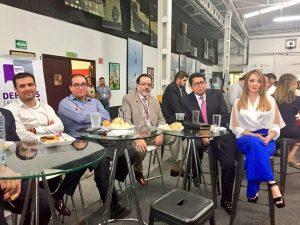 Magistrados presentes en el primer debate entre candidatos a la gobernatura de Jalisco