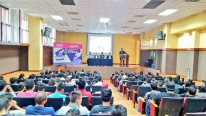 En la Jornada Voto Joven Informadoen la Universidad Tecnológica de Jalisco