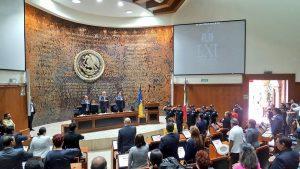 El Magistrado Tomás Vargas Suárez presente en la Sesión Solemne, para conmemorar el 195 Aniversario de la Declaración de Jalisco como Estado Libre y Soberano