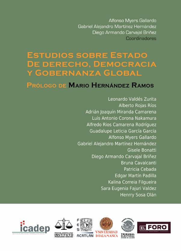 Estudios sobre estado de derecho, democracia y gobernanza global